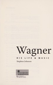 Cover of: Wagner | Stephen Johnson