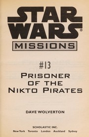 Cover of: Prisoner of the Nikto pirates