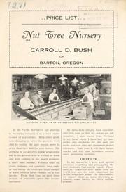Cover of: Nut Tree Nursery | Carroll D. Bush