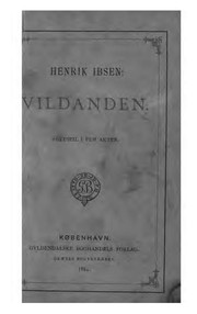 Cover of: Vildanden