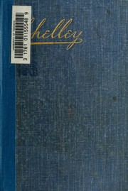 Cover of: Poems By Percy Bysshe Shelley