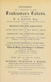 Cover of: Catalogue of a collection of rare tradesmen