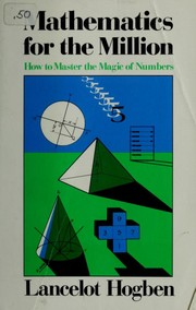 Cover of: Mathematics for the million