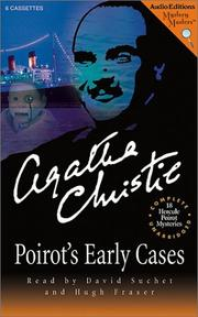 Cover of: Poirot's Early Cases