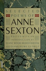 Cover of: Selected poems of Anne Sexton | Anne Sexton