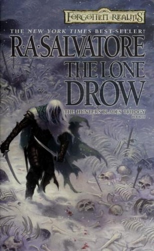 The lone drow by R. A. Salvatore