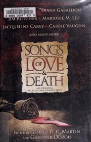 Cover of: Songs of love & death: all-original tales of star-crossed love