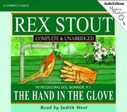 Cover of: The Hand in the Glove (Stout, Rex) | Rex Stout