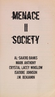 Cover of: Menace II society
