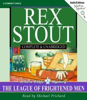Cover of: The League of Frightened Men | Rex Stout