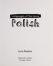 Cover of: Polish | Lucia Raatma
