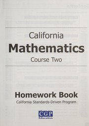 Cover of: California mathematics | Harold I. Lawrence