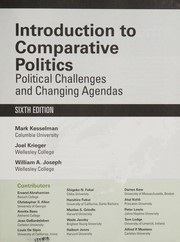 Cover of: Introduction to comparative politics | Joel Krieger