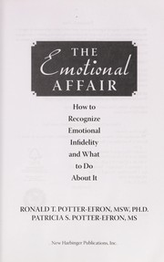 Cover of: The emotional affair