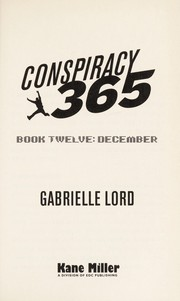 Cover of: Conspiracy 365