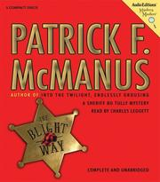 Cover of: The Blight Way | Patrick F. McManus