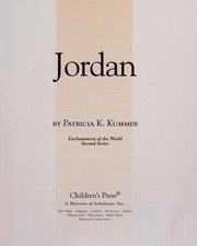 Cover of: Jordan | Patricia K. Kummer