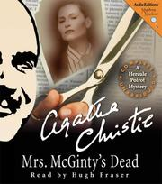 Cover of: Mrs. McGinty's dead