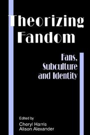 Cover of: Theorizing Fandom |