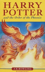 Cover of: Harry Potter and the Order of the Phoenix |