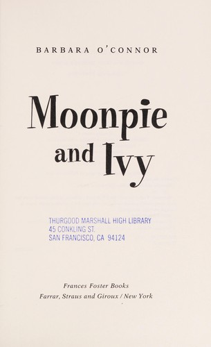 Moonpie and Ivy by Barbara O'Connor