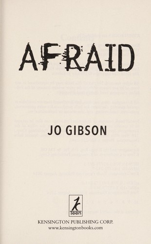 Afraid by Jo Gibson