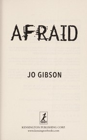 Cover of: Afraid | Jo Gibson
