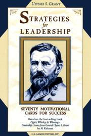 Cover of: Strategies for Leadership