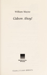 Cover of: Gideon ahoy!