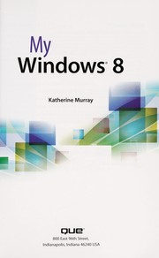 Cover of: My Windows 8