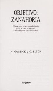 Cover of: Objetivo: zanahoria