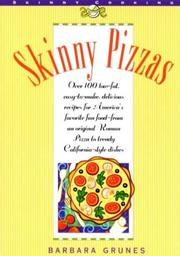 Cover of: Skinny pizzas | Barbara Grunes