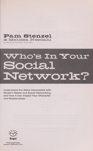 Who's in your social network? by Pam Stenzel