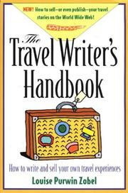 The travel writer's handbook by Louise Purwin Zobel