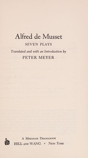 Cover of: Seven plays: Translated and with an introd. by Peter Meyer.