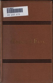Cover of: The essays of Elia