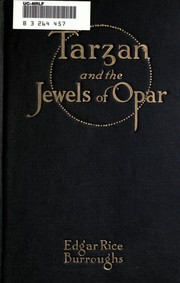 Cover of: Tarzan and the Jewels of Opar