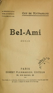 Cover of: Bel-Ami