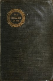 "Cover of: The nigger of the ""Narcissus"": a tale of the sea"