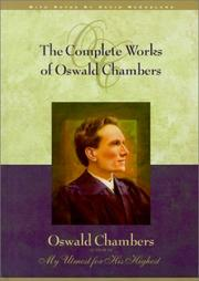 Cover of: The Complete Works of Oswald Chambers