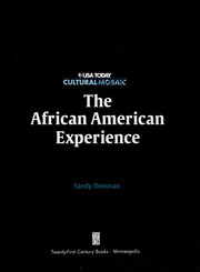 Cover of: The African American experience | Sandra Donovan
