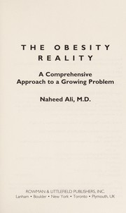 Cover of: The obesity reality | Naheed Ali