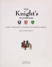 Cover of: The knight's handbook: how to become a champion in shining armor