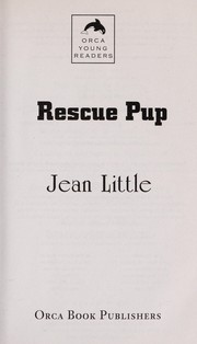 Cover of: Rescue Pup