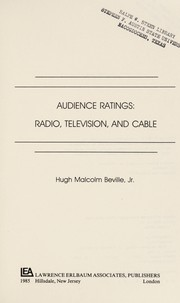 Cover of: Audience ratings | Hugh Malcolm Beville