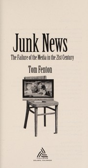 Cover of: Junk news | Tom Fenton