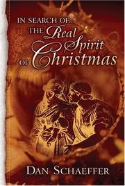 Cover of: IN SEARCH- THE REAL SPIRIT OF CHRISTMAS