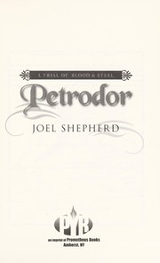 Cover of: Petrodor | Joel Shepherd