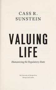 Cover of: Valuing life