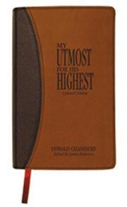 Cover of: MY UTMOST FOR HIS HIGHEST UPDATED MOCHA (My Utmost for His Highest)